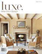 Luxe Interiors + Design Cover Feature!