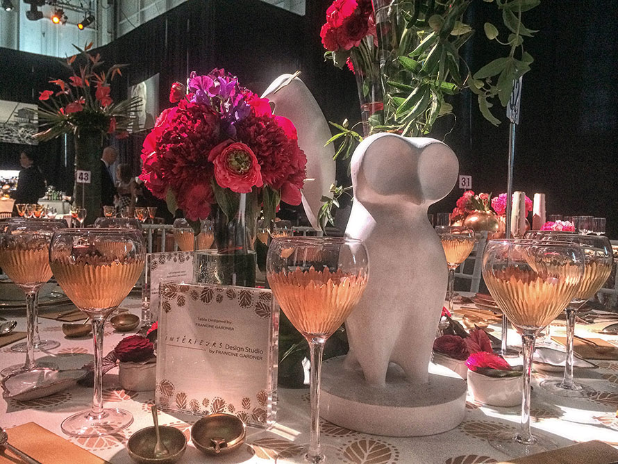 2014 Red Cross Red & White Ball - Interieurs