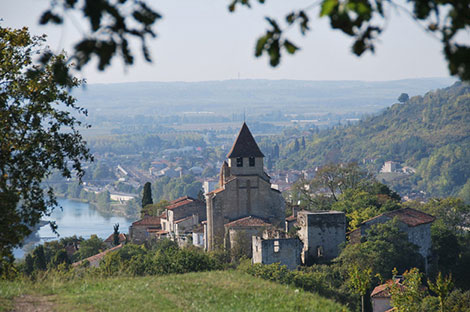 My village Clermont Dessous in South West of France